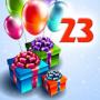 Открытка с днем рождения 23 года девушке 36